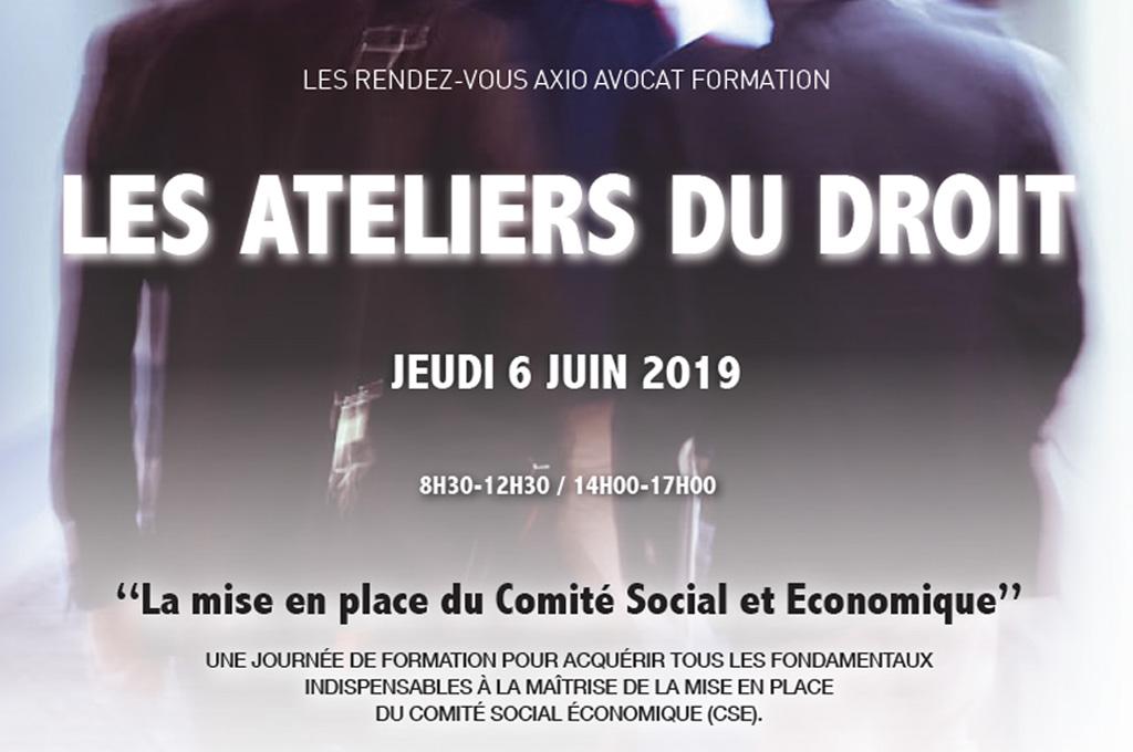 La mise en place du Comité Social et Économique : prochain rendez-vous formation le 6 juin
